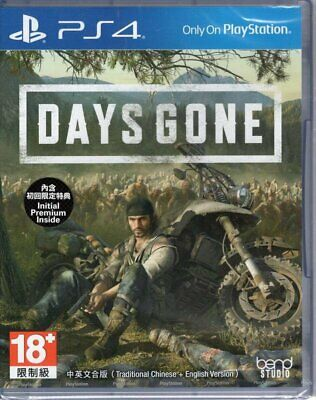 Days Gone For Sony Playstation 4 PS4 (English Voice, English/Chinese Sub)