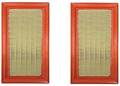 Set of 2 Generac 0J8478S 14kW-20kW V-Twin 990 999CC Generator Air Filter Element