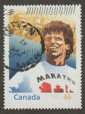 CANADA 2000 Millenium coll. #1824c Hearts of Gold (Terry Fox) - Used