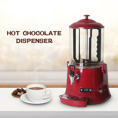 Commercial 10L Hot Chocolate Drinks Dispenser Chocolate Tempering Warmer Machine