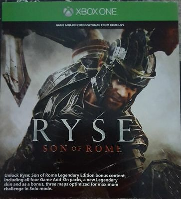 RYSE DAY ONE DLC Add-On for Xbox One X1 - $8 00 | PicClick