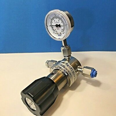 APTech Single Stage regulator 3500PSI with WIKA PSI GAUGE