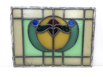 Stained Glass Window Leaded Vintage