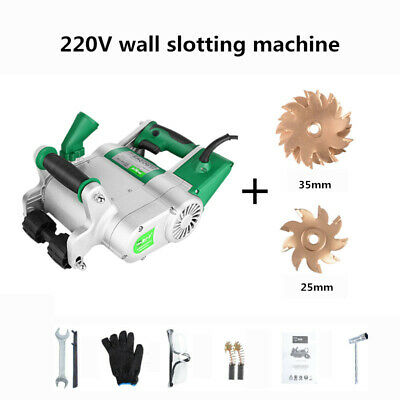 220V Wall slotting machine Hydropower installation Electric Wall Chaser 1600RPM