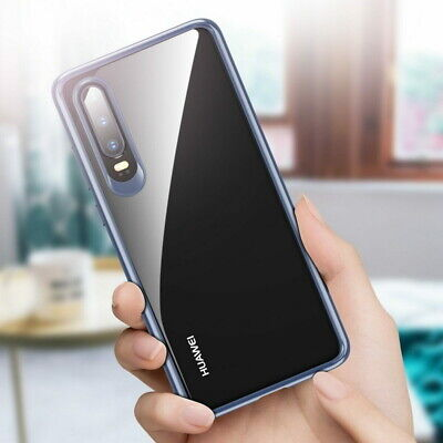 Plastic Hard Back Silicone Soft Bumper Case Cover For Huawei P30 P20 Mate 20 Pro