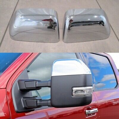 99-07 Ford F250 SuperDuty Chrome 2 Door Handle W//K Tailgate Mirror Cover w//TL