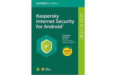 Licenza Kaspersky Internet Security 1 Dispositivo Android  365 Giorni
