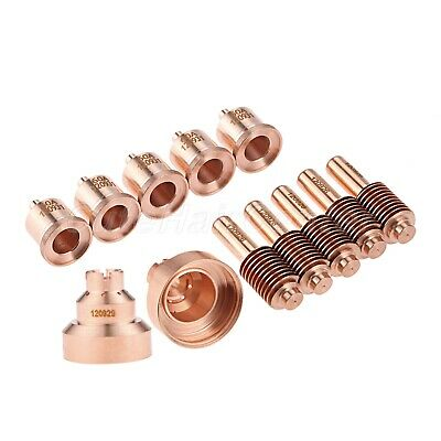 1Set of 120929 Shield 120931 Nozzle 120926 Electrode for PMX 1000 1250 1650 RT80