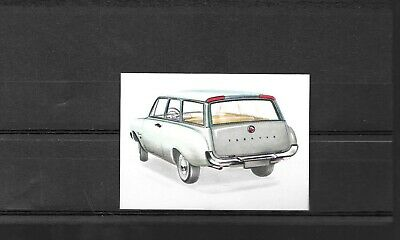 Chromos  n° 55 - Le Break Ford Taunus 17 M - Auto 1962 dans le marché commun