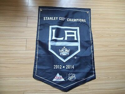 2018 Molson Coors Stanley Cup Banner Los Angeles Kings