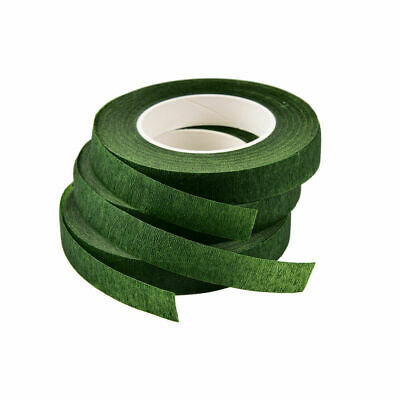 Dark Green Florists Stem tape Bridal Bouquet Buttonholes Wedding Flowers