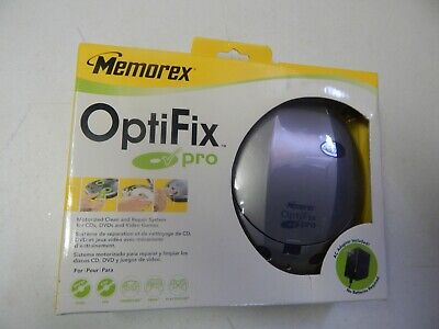 Memorex Optifix Pro Motorized CD DVD Video Games Repair Kit