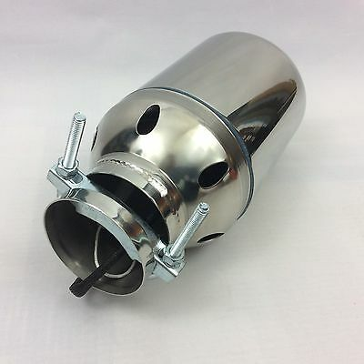 "Universal LED Tailpipe 4"" - Drifting - Racing - Show Car"