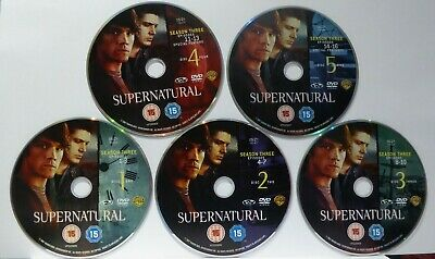 Supernatural - Series 3 - Complete  - DISCS ONLY