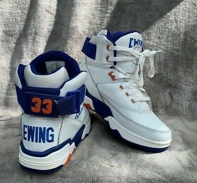 quality design 6cab7 48ad1 PATRICK EWING ATHLETICS 33 HI White Royal Orange OG Size 7 (1EW90014-