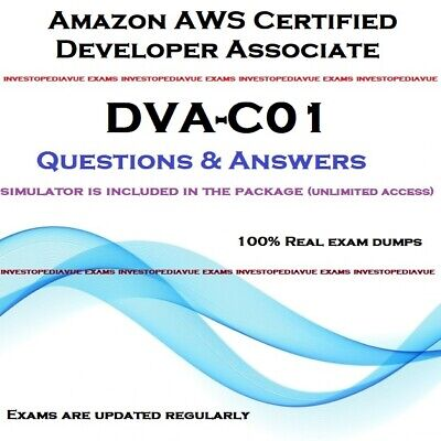 Amazon AWS Certified Developer Associate DVA-C01 exam dumps and Simulator