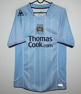 Manchester City England home shirt 07/08 Le Coq Sportif Size S