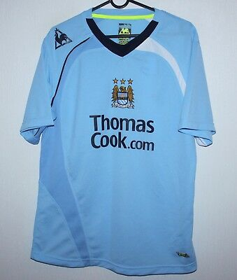 Manchester City England home shirt 08/09 Le Coq Sportif Size 38/40