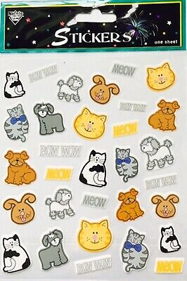 Jolees Boutique ANIMAL NOSES 3D Stickers Rabbit Dog Cat Whiskers