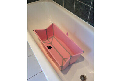 Stokke Flexi Bath Foldable Baby Travel Bathtub - Pink