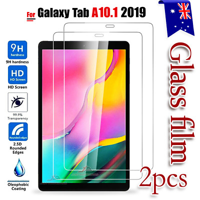 "2X Samsung Galaxy Tab A 10.1"" 2019 SM-T510 T515 Tempered Glass Screen Protector"