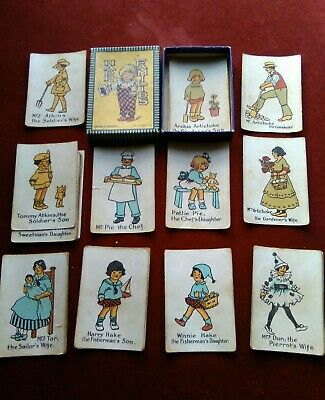 Happy families vintage class toys playing cards Chad Valley