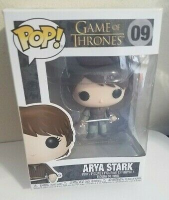 New!! Funko POP Game of Thrones (#09) Arya Stark Vinyl Figure (Edition Two)