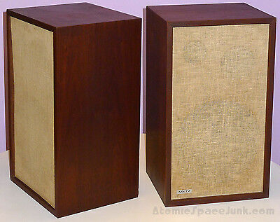 CTS MkIV ACOUSTIC SUSPENSION FLOOR SPEAKERS VINTAGE 1970 WALL TO WALL SOUND HIFI