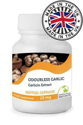 Odourless Garlic 1000mg Oil Extract Softgel Capsules Nutrition