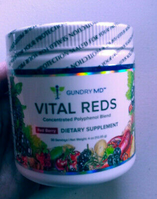 Gundry MD Vital Reds Concentrated Polyphenol Blend Berry Flavor - 4oz Exp 2020