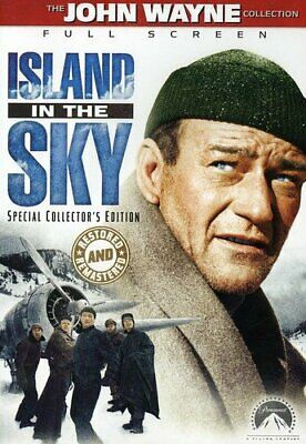 Island In The Sky (John Wayne) - Restored And Remastered *New Dvd*