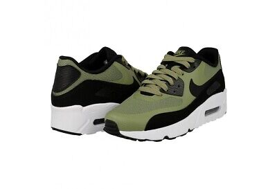 new product 670c8 a0776 Nike Air Max 90 Ultra 2.0 GS 869950-300 Palm Green White Black Youth NEW