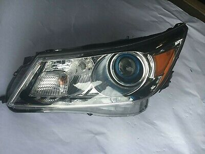 HEADLIGHT HID BLUE PROJECTOR Left Driver Side for 2013 BUICK LACROSSE 22785285
