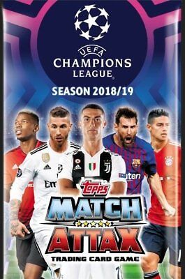 Champions League 18/19 2018/2019 2018/19 match attax limited edition super cards