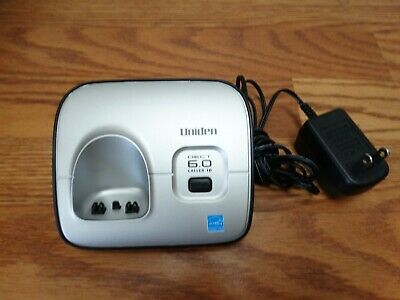 Uniden 6.0 Dect D1660 -3...Phone Base & Power Adapter Only Replacement