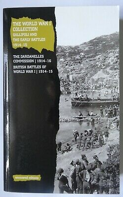 The World War I Collection, Gallipoli and the 1915 Battles 1914-15.
