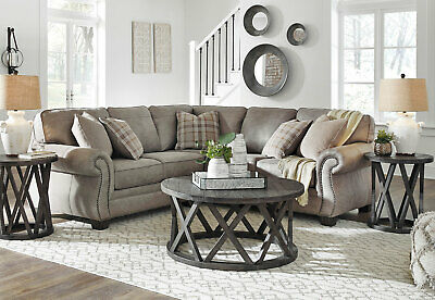 Fantastic Sectional Sofa Gray Fabric Comfort Relax Chaise Tufted Cjindustries Chair Design For Home Cjindustriesco