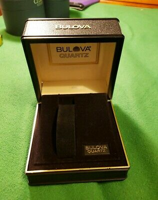 Brand New And Authentic With Inner Pillow Bulova Complete Wood Watch Gift Box Watches, Parts & Accessories