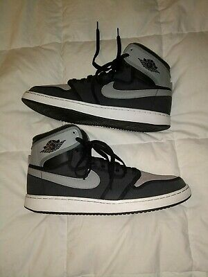 low priced 8ba1c e57e6 Nike Men s Air Jordan 1 KO High OG Shadow (Blk Gray) Size 11.5
