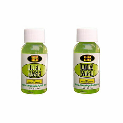 2X Ultra Klean Mouth Wash Detox Saliva Cleansing Toxin Double Pack Toxin FREE