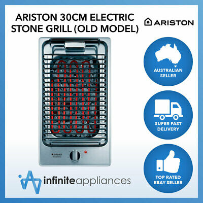 Ariston Built-in Electro Grill Barbecue with Heat-Resistant Stones (Old Model)