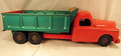 Vintage Structo Toy Hydraulically Operated Dump Truck Pressed Steel 1950s