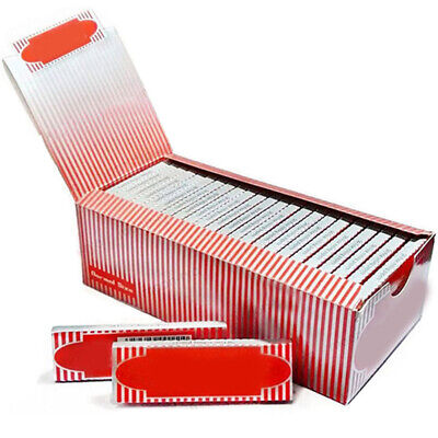 1 Box 50 Booklets Moon Red Cigarette Tobacco Rolling Papers 2500 Leaves Band