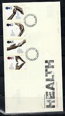 1998 Great Britain Stamps Fdc Cover First Day Issue Used  Lot  5717