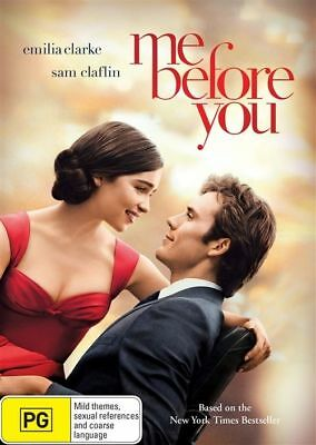 Me Before You (DVD, 2016)