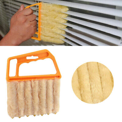 Microfiber Window Cleaning Brush Useful Air Conditioner Duster Shutters Cleaner