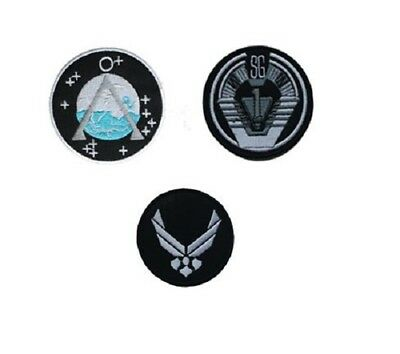 STARGATE SG1   Iron On / Sew On Patches Badges 8cm