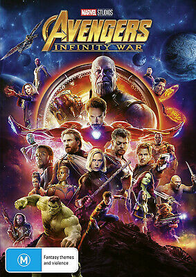 NEW SEALED Avengers: Infinity War (DVD) FAST FREE SHIPPING