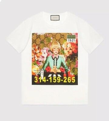 4bf4a6c0d4c Brand New Gucci Oversize Ignasi Monreal T-shirt Size L