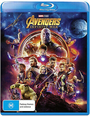 NEW SEALED Avengers: Infinity War (Blu-ray) HD BR FAST FREE SHIPPING